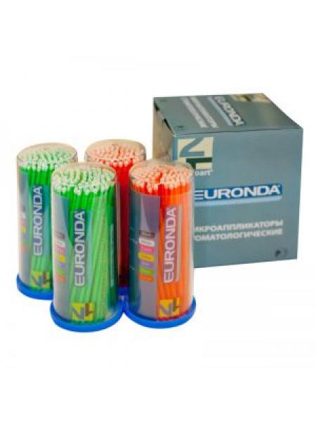 EURONDA Аппликаторы стоматологические Regular, 100 шт.