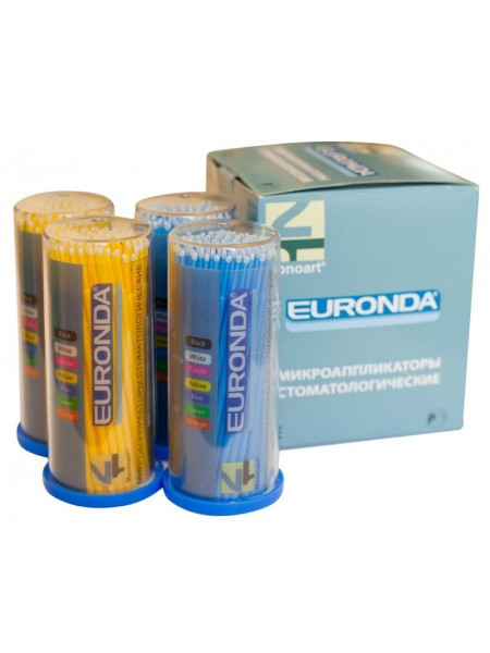 EURONDA Аппликаторы стоматологические Fine, 100 шт.