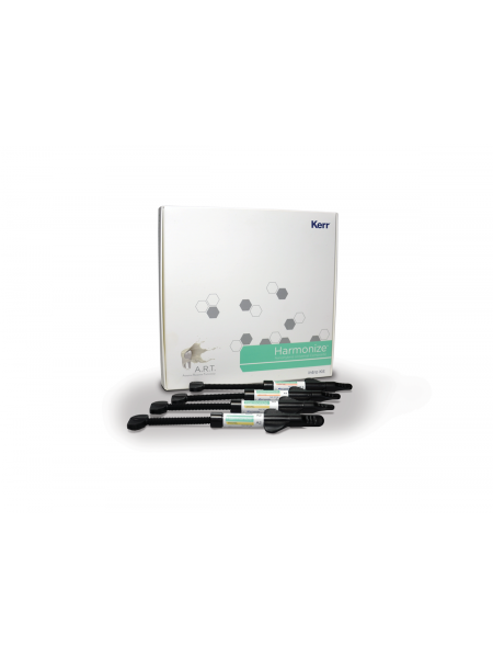 Гармонайз набор / Harmonize Intro Kit шприц 4гр х 4шт 36633 эмаль А2, А3; дентин А3, А3,5